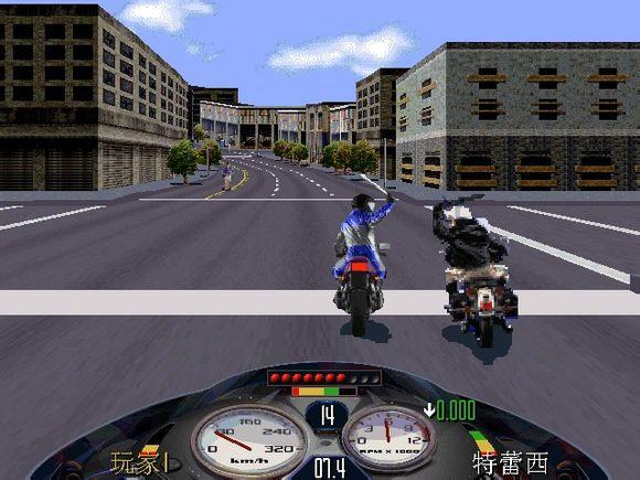 《暴力摩托》是一款与众不同的竞技类游戏