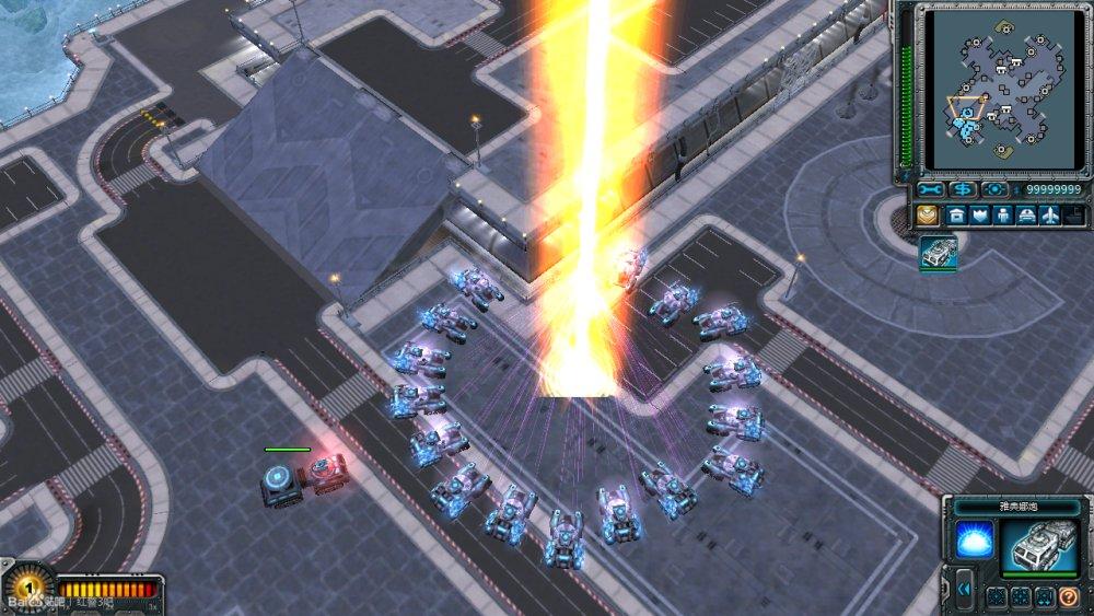 《红色警戒3》雅典娜和幻影坦克武器BUG大